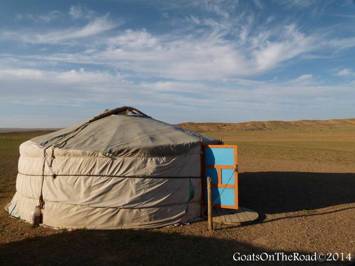 ger in gobi desert accommodation options