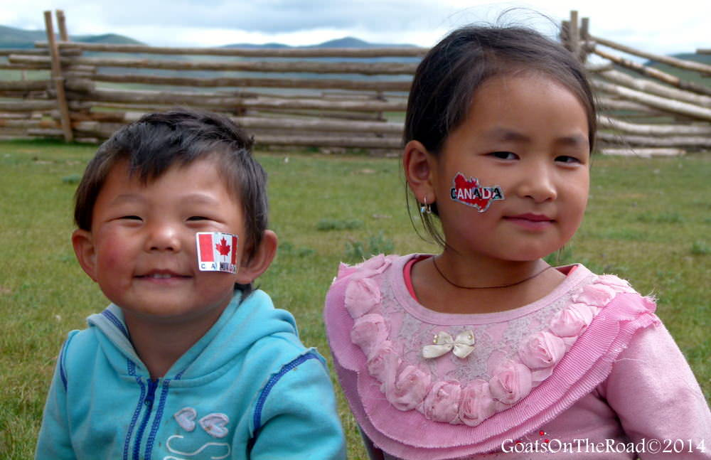 kids in mongolia