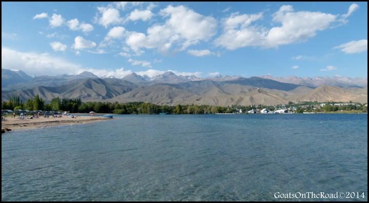 cholpon alta lake kyrgyzstan