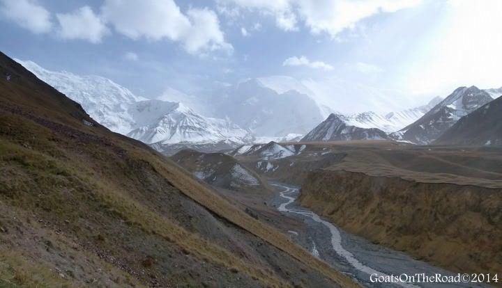 trekking peak lenin kyrgyzstan