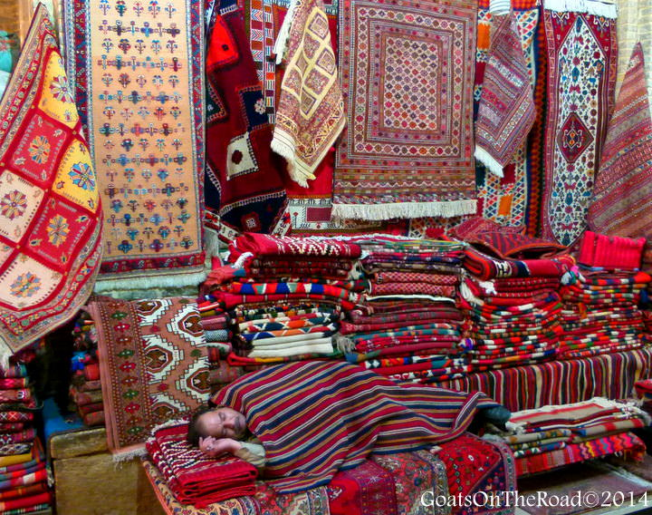 shiraz market iran