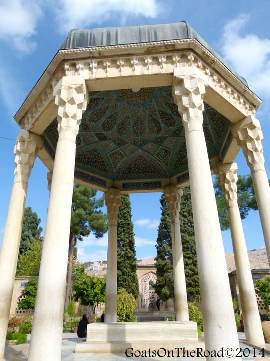 tomb of hafez shiraz
