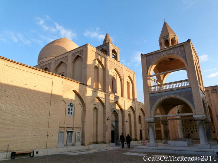 van cathedral travel iran