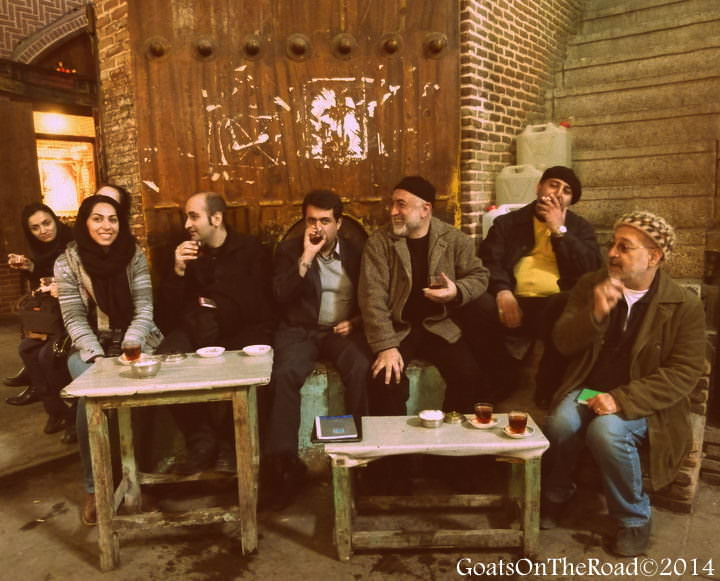 travel to iran tabriz