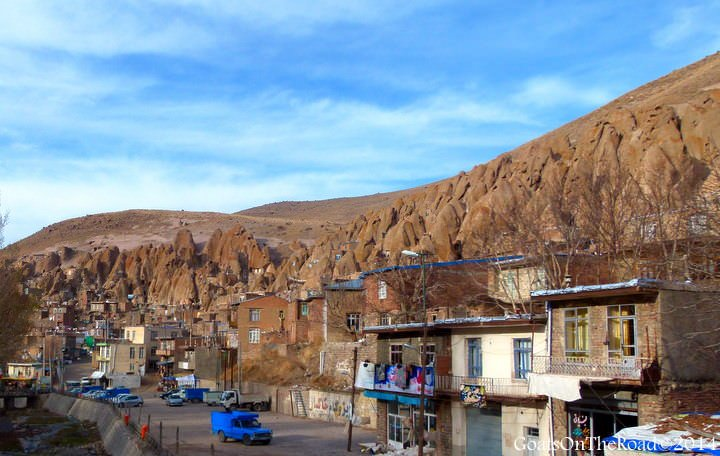travel to iran kandovan