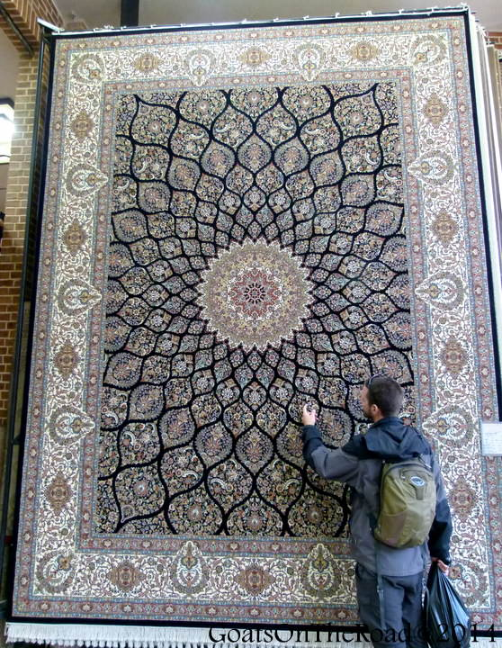 persian carpet iran