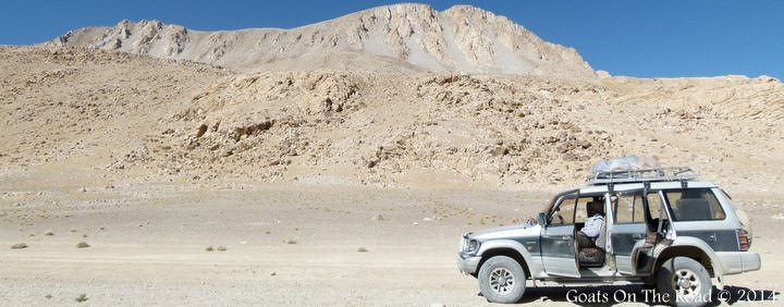 backpacking Tajikistan on the Pamir Highway