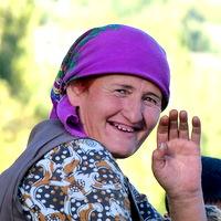 Local People Backpacking Tajikistan