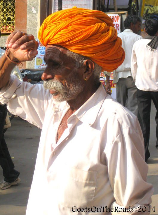 indian man pushkar