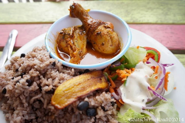 food in belize