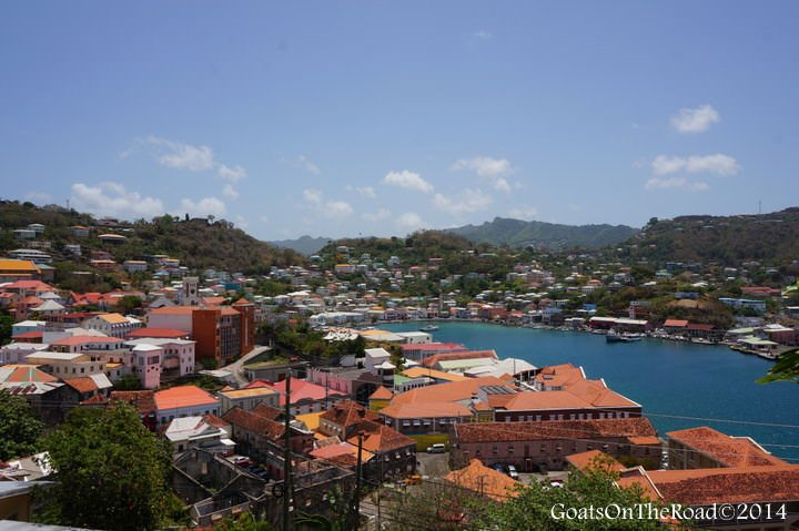 living in grenada st george's