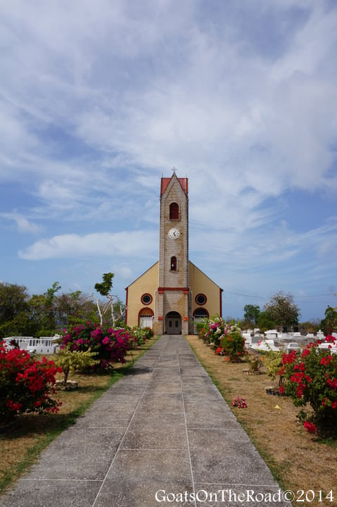 church in sauteurs grenada
