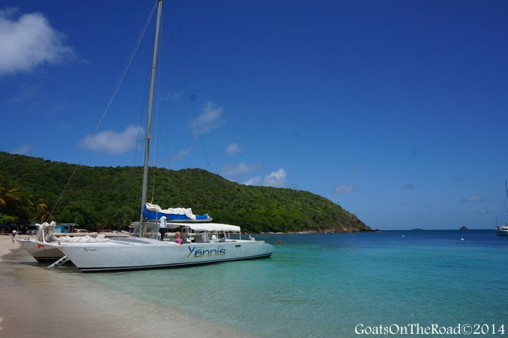 yannis catamaran