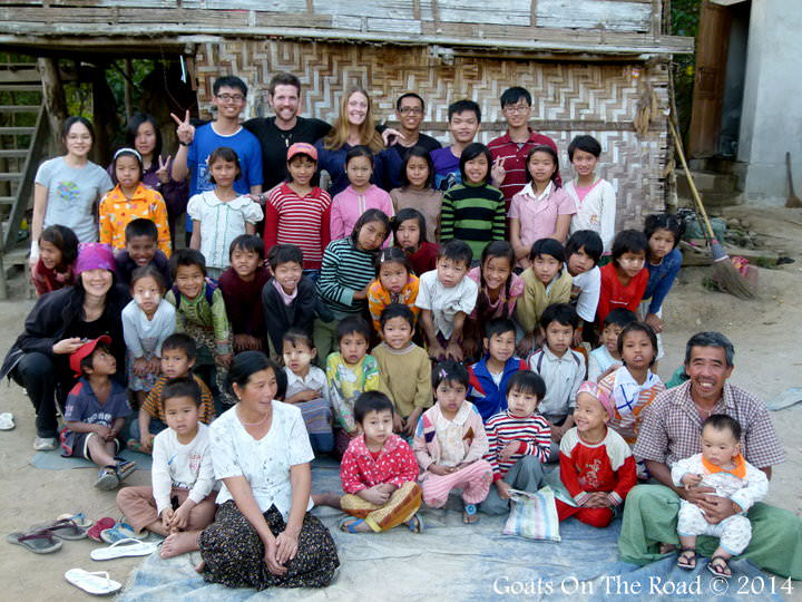 Our Class In Naloy Village, Myanmar