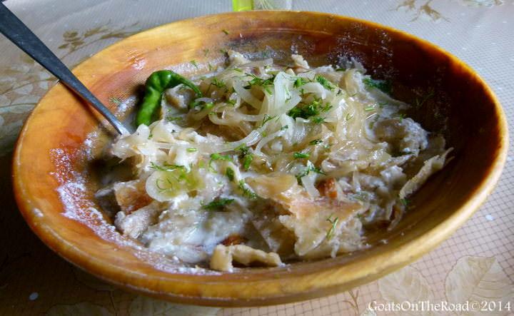 Tajikistan food