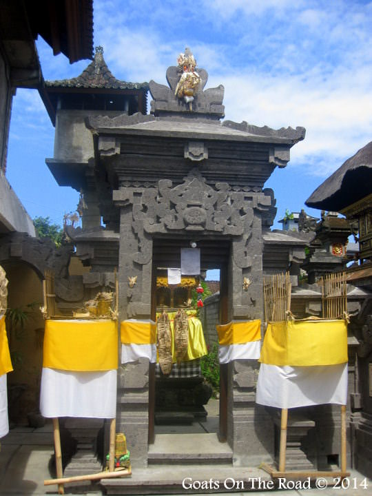 A Temple in Ubud, Bali