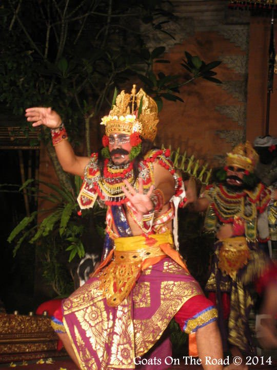 The Lion Dance In Ubud, Bali
