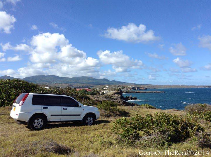 Our Temporary Car In Grenada