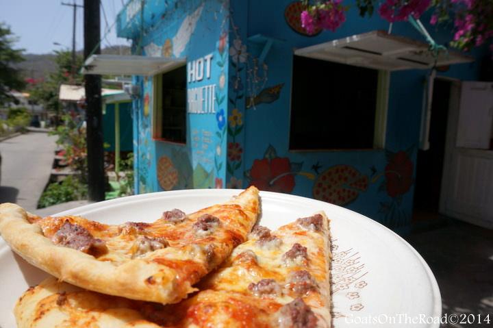 pizza hut bequia island