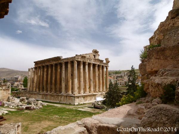 ruins of baalbek lebanon