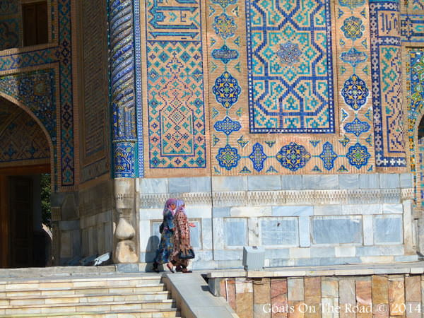 Woman In Samarkand