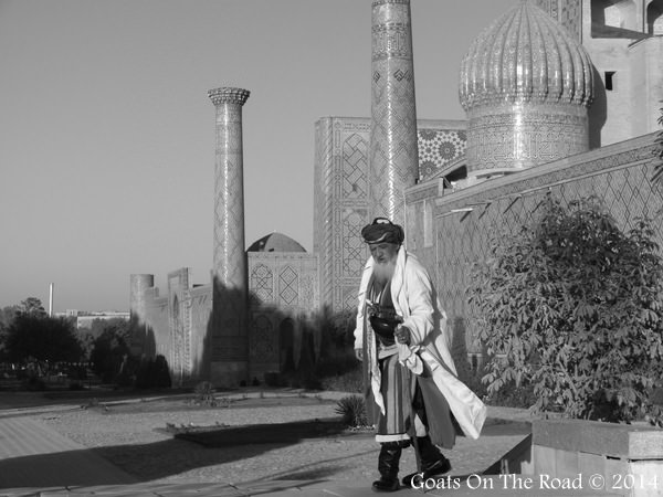 black and white samarkand