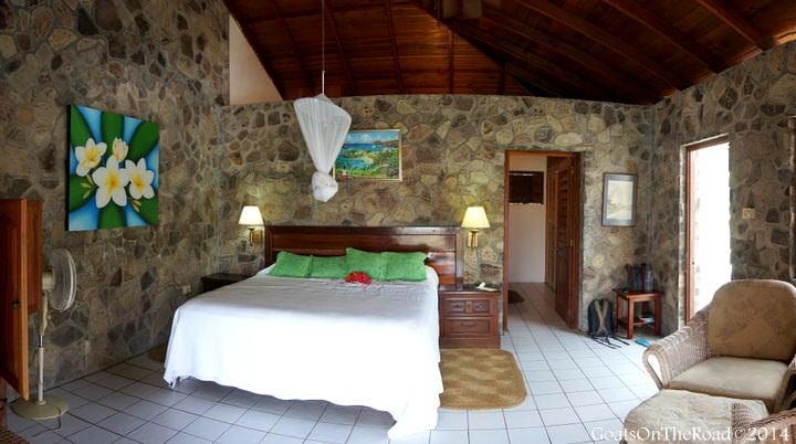 rooms at frangipani hotel bequia