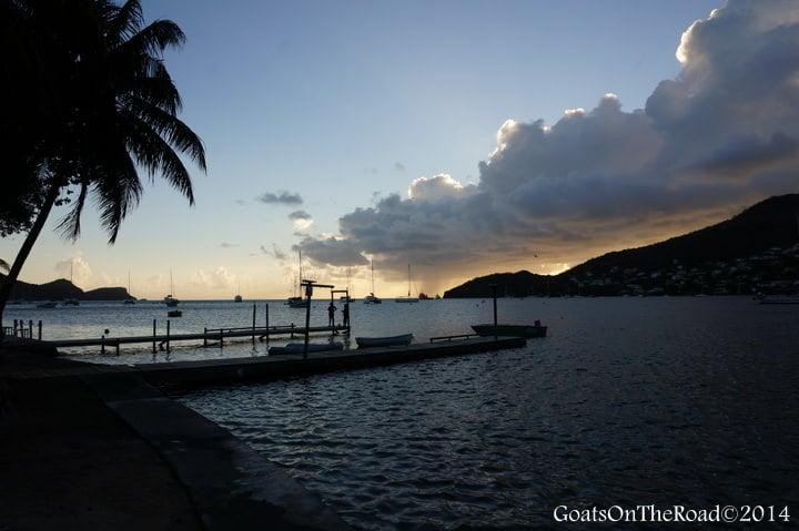 sunset frangipani hotel bequia