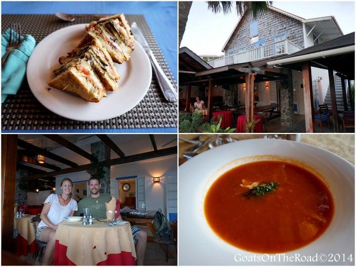 frangipani restaurant bequia