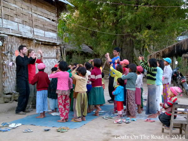 volunteering in myanmar