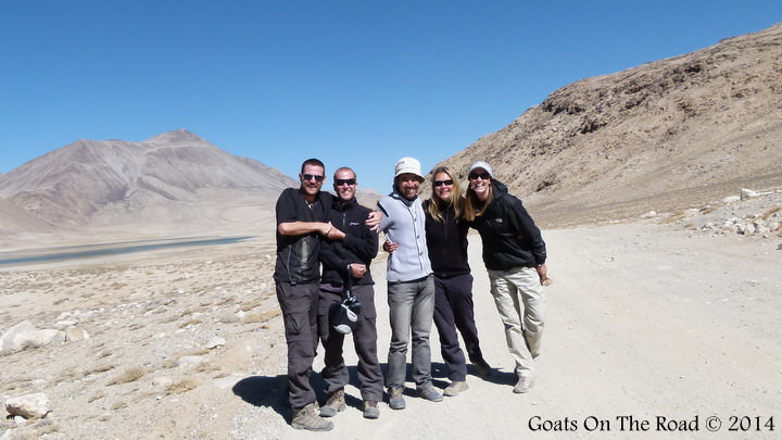New Friends On The Pamir Highway