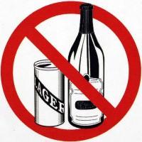 No alcohal