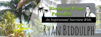 Blogging From Paradise Interview Header