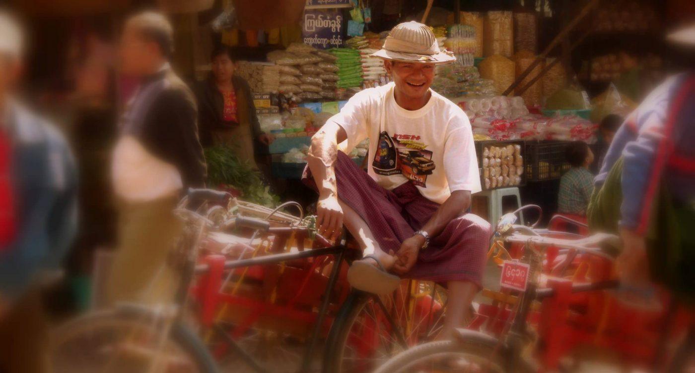 cycle rickshaw myanmar