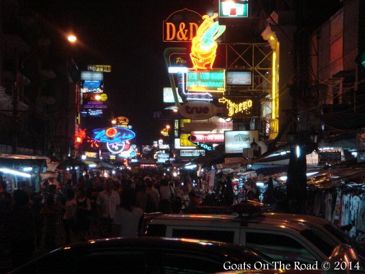 Backpackign Southeast Asia Khaosan Road