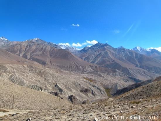 Mountains near Bulankul
