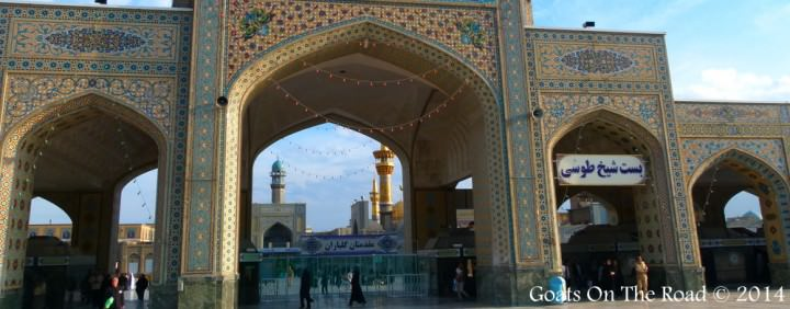 Shrine in Mashad