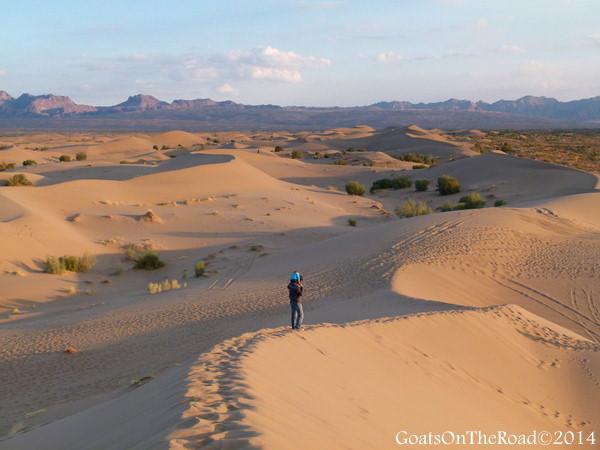 desert in iran
