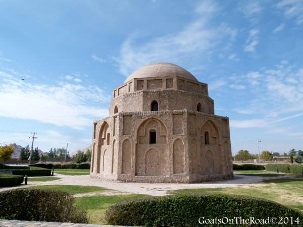 zoroastrian structure kerman