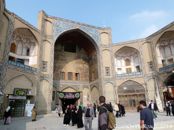 travel to esfahan iran