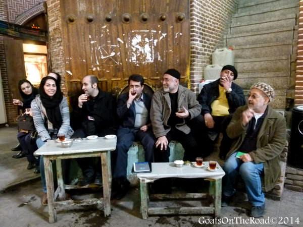 iranian people tabriz