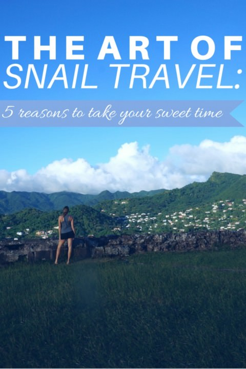 The Art Of Snail Travel- 5 Reasons To Take Your Sweet Time