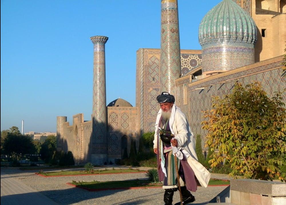 man in uzbekistan