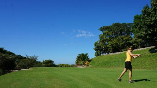 Golfing in San Pancho, Mexico