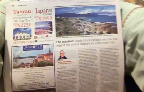 Globe and Mail Paper