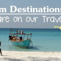 5 Dream Destinations That Are On Our Travel Bucketlist