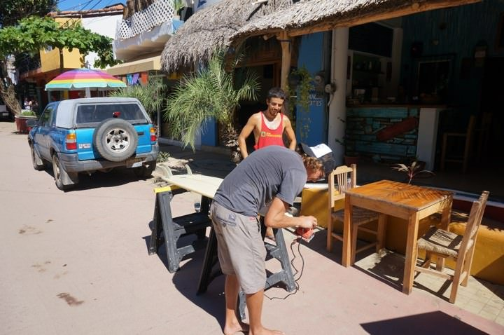 Downtown San Pancho Surf Shop