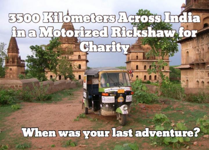 Rickshaw Run TukTuk
