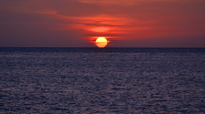 sunset photo cuba