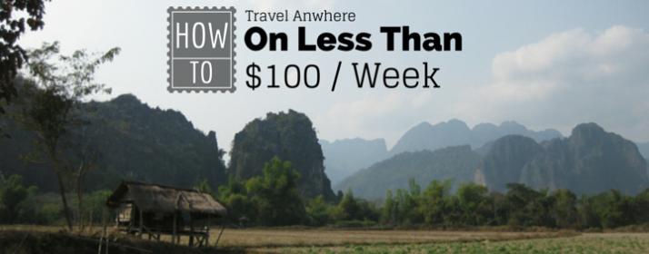 Travel on less than $100 / week